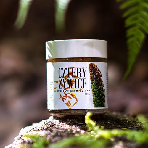 krem 4 żywice Trawiaste krem do rąk dla mężczyzny naturalne kosmetyki