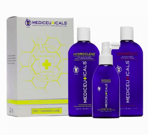 mediceuticals for hair loss dry do skóry suchej zestaw