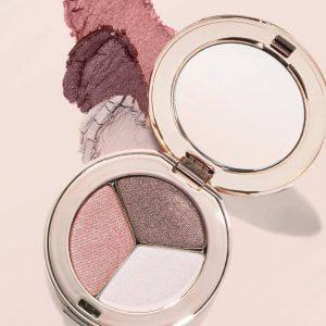 potrójne cienie do powiek Jane Iredale makijaż mineralny Głogów