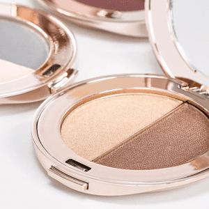 Podwójne cienie purepressed eye shadow Jane Iredale cienie do powiek naturalny makijaż mineralny Trycho-Derm Głogów
