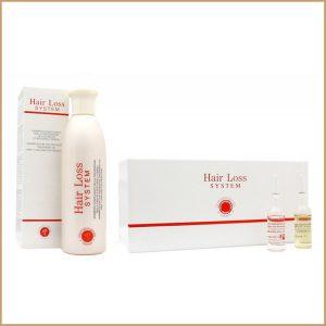 Zestaw zapobiegający wypadaniu włosów