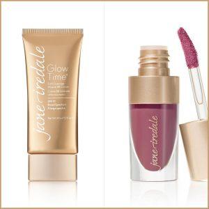 Glow Time Lip fixation pomadka i podkład mineralny Jane Iredale kosmetyki Głogów