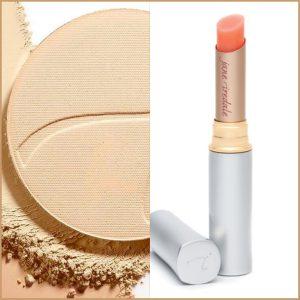 puder prasowany pomadka forever Jane Iredale kosmetyki makijaż mineralny Głogów
